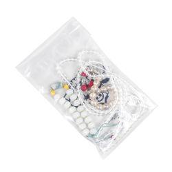 Оптовая торговля белого цвета из алюминия стандартный размер Falt нижней части моды дамы магазинов украшения упаковка PE/OPP/LDPE прозрачный пластиковый Ziploc Бич мешок