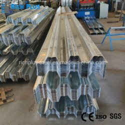 Leichtes Verzinktes Stahlblech Bodendecking / Verzinktes Metall Blech / Heißer Verkauf Stahl Decking Sheet