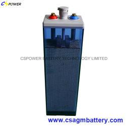 Трубчатый Opzs Cspower батареи аварийного освещения/солнечной 2V600ah аккумуляторная батарея