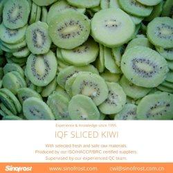 Gefrorene Kiwi-Scheiben, IQF-Scheiben, gefrorene Kiwi-Scheiben, IQF-Kiwi-Scheiben, gefrorene Früchte, IQF Obst, gefrorene Lebensmittel