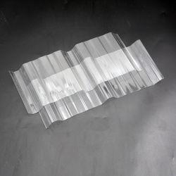 中国の工場防水明確な透過プラスチックPVC屋根瓦