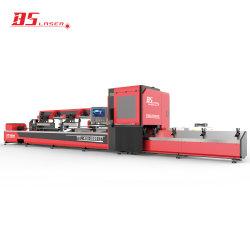 1000-4000W tubo tubo redondo de Corte a Laser de fibra/Máquina de Corte de Carga/Descarga Automática