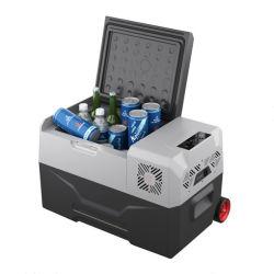 50L小型携帯用車冷却装置圧縮機のピクニッククーラーボックス組み込みのリチウム電池