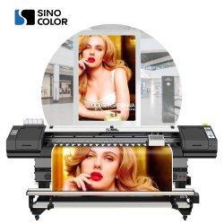 Sinocolor 1,8m 6 pés com formato panorâmico Vinil Adesivo Galpão de Lona Eco Solvente Impressora para venda