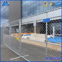 Trou de diamant Clôture Clôture galvanisé/clôture galvanisé à chaud/clôture à mailles losangées/STEEL/security/ISO9001/ASTM/l'Amérique/ clôture temporaire pour l'industrie/Vente/commercial