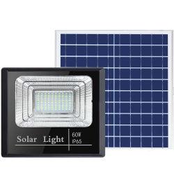 Lampada LED a luce solare a LED da 60 W ad alta luminosità Sistema di alimentazione a risparmio energetico sensore illuminazione Giardino piscina parete Subacquea all'aperto