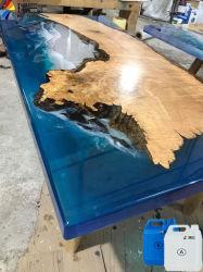 Epossiresina per velocemente il trattamento della resina del pezzo fuso della mobilia della Tabella del fiume