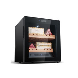Étagère en bois de cèdre espagnol n° électronique cigare en bois armoire du compresseur