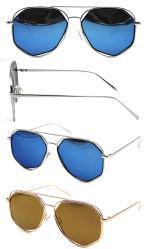 2018 nuovi occhiali da sole progettati del metallo di alta qualità (SM701012)