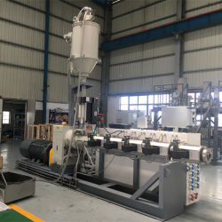 Fabbricazione della macchina per la riga di plastica dell'espulsione del tubo del PE convogliare/pp di PP-R