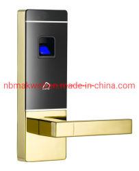 Cerradura de puerta de la tarjeta RF de huellas digitales