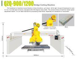 Granite를 위한 러시아 Screw Lifting Bridge Cutting Machine