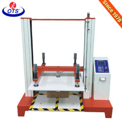 Paquete de cartón Digital Máquina de ensayo de fuerza de compresión