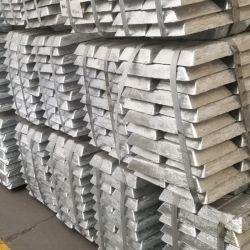 Ventas directas de fábrica china de lingotes de zinc de alta calidad 99.959%