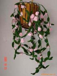 Artesanato têxtil, Lã Flower-4