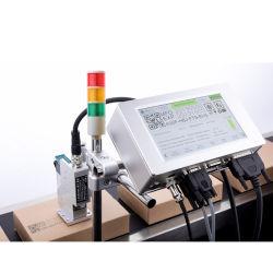 ハンドヘルドインクジェットコードプリンタ HP サーマルテック、 PVC PE 用 TIJ クイックドライインクカートリッジを使用したプラスチック素材