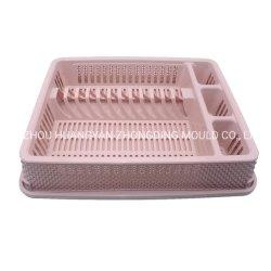 台所用品プラスチック貯蔵の Crate は皿およびボールの世帯を握ることができる ふた付きプラスチック容器