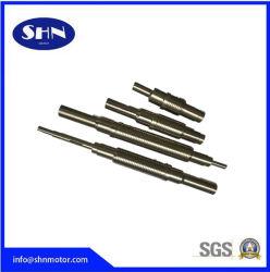 El eje de transmisión de acero inoxidable para las piezas del motor Stepper motor CC