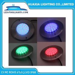 IP68 Тонкие плоские Multi-Color 18W DC12V Аквариум LED Бассейн подводного освещения
