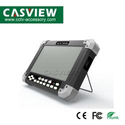 """Het Meetapparaat van de Camera van Tvi/Ahd/Cvi/CVBS (4 IN 1), steunt Maximum Cvi 2MP, Ahd 3MP, Tvi 4MP Resolutie 7"""" De Monitor van kabeltelevisie van het Scherm van TFT LCD 800*480"""