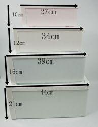 Type de tiroirs en plastique transparent maison Accueil Conteneur Boîte de rangement pour les aliments pour les chaussures