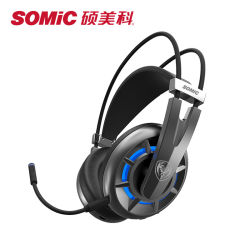 Somic G939air casque sans fil 2.4G Surround 7.1 Gaming Headset