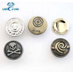 熱い販売のステンレス鋼の金属の真鍮のジーンズボタン