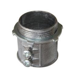 세트 스크류 아연/알루미늄 다이캐스트 EMT 커넥터