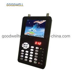 "3.5""digital via satélite Finder Monitor LCD suporta DVB-S2/MPEG-4 Teste do Sinal"