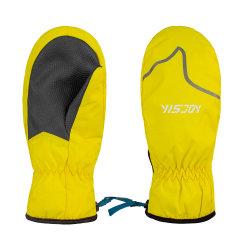La migliore qualità scherza i guanti caldi impermeabili di inverno di snowboard del pattino della neve dei bambini