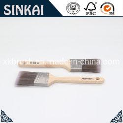 나무로 되는 손잡이를 가진 2 인치 페인트 붓 또는 색칠 공구 또는 수공구