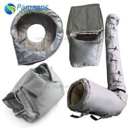 Съемный и многократного использования гибких короткого замыкания куртка для выпускных клапанов, трубопроводы, фланцы, котлов