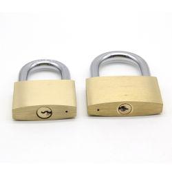Commerce de gros de la sécurité de serrure de porte à usage intensif en laiton laiton peint Cadenas de verrouillage de serrure de porte