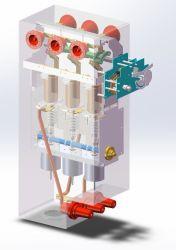 8mrmu-CB du convoyeur ou panneau entrant avec disjoncteur du circuit de vide Ring Main Unit 8mrmu isolé pour la SDD de SF6