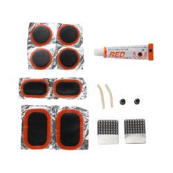 弁カバー接着剤パッチの手段のタイヤ修理工具セット
