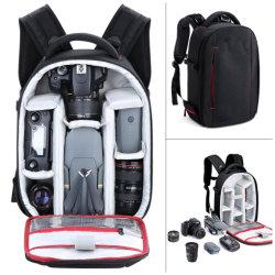 Flash di Speedlite dello zaino del sacchetto della macchina fotografica, treppiedi, obiettivo di macchina fotografica ed accessori leggeri impermeabili