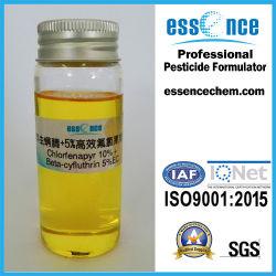 Весьма эффективным Chlorfenapyr+ Beta-Cyfluthrin (10%+5% EC)