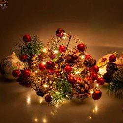 Светодиодный индикатор строки Рождество строки string светодиодные лампы освещения Рождество лампа