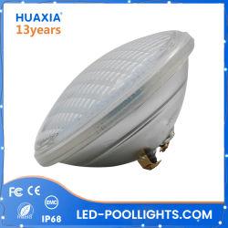 IP68 8W 12W 18W 24W 35W par verre56 LED lampe de feu sous l'eau de piscine