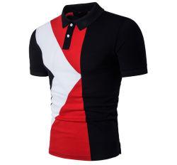 Новые моды на крышах повседневный короткие втулки Sweatshirt мужская рубашка T