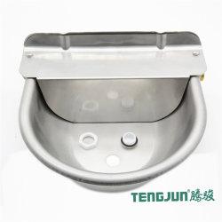 Ajuste o nível de água, 304 aço inoxidável tigela de água 2L