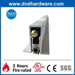 CE UL ドア家具ハードウェアアクセサリ陽極酸化アルミニウムアコースティックオートマチック 隠しドアボトムドロップシール