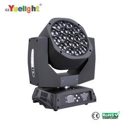 Гибкие светодиодные полосы УФ лампа LED RGBW 19ПК*15W Bee глаза Робин перемещение светового пучка глав государств