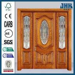 Jhk Última portátil de armario de puerta de madera maciza de partición de templado