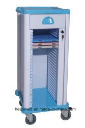 HS-Prt005 Hospital plástico ABS de Historia Clínica la cesta