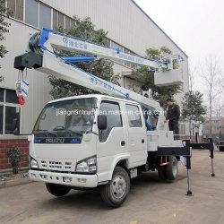 Isuzuのトラックによって取付けられる空気作業プラットホーム