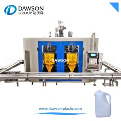 1L 2L 5L 플라스틱 병 이중 스테이션 자동 블로우 몰딩 기계