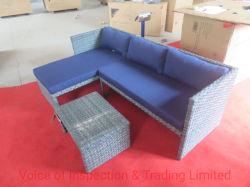 Contrôle de qualité / Meubles canapé de plein air / Inspection finale de l'inspection aléatoire dans la ville de Qingdao