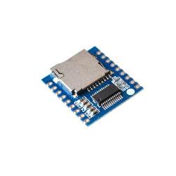 Xy V17b 직렬 포트 통제 음성 모듈 MCU Io 통제 SD/TF 카드 MP3 재생 널
