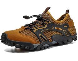 Escuro OEM Skidproof respirável macho exterior escaladas de calçado